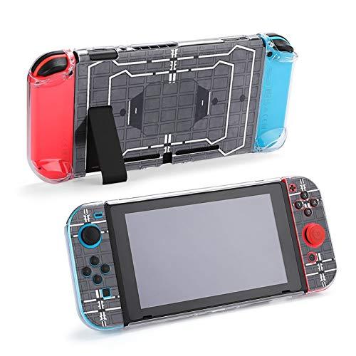 Funda Protectora de Accesorios Rainbow Frost Six Siege para Nintendo Switch, Funda acoplable para Consola Nintendo Switch