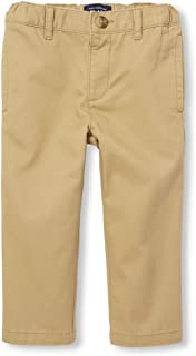 The Children's Place Boys' Baby and Toddler Uniform Chino Pants