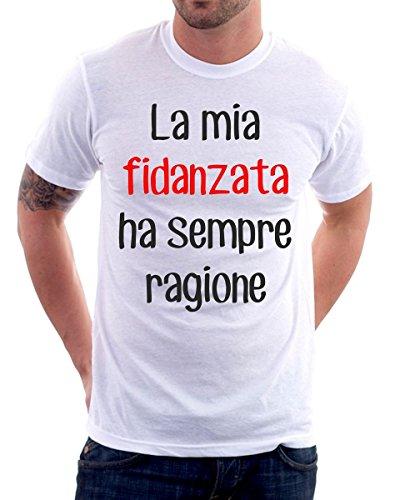 Tshirt La mia Fidanzata ha Sempre Ragione - Idea...