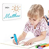 Dry Erase White Board - Mini White Board Portable Double Sided Blank Personal Handwriting Whiteboard 9x12 inches Lap Board Christmas Gift for Kids