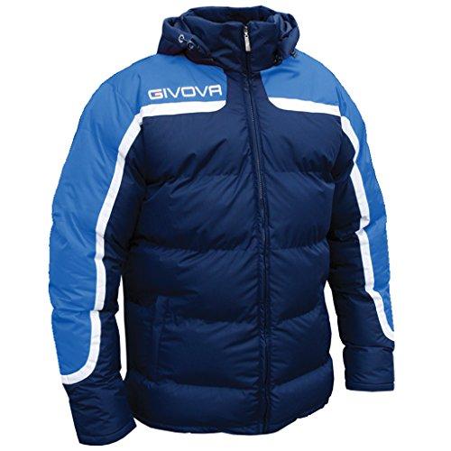 Givova Antarktis, Jacke Fußball Herren 2XL Multicolore (Azzurro/Blu)
