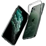 Spigen Liquid Crystal Kompatibel mit iPhone 11 Pro Hlle, [Anti-Gelb] Transparent TPU Silikon...