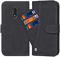 Asuwish Nokia 6 Wallet Case,Luxury Leather Phone Cases with Credit Card Holder Slot Stand Kickstand Book Rugged Flip Folio Protective Cover for Nokia 6 2017 (TA-1000 /TA-1003) 5.5