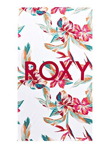 Roxy Cold Water-Toalla De Playa, Mujer, Bright White Tropic Call s, 1SZ