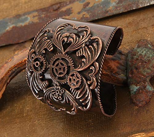 Elope 198449 Steampunk adultes Antique Bracelet Cuivre