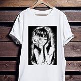 T-Shirt Tomie Junji Ito Uzumaki Manga Anime Guro Japan Japanese Suehiro Maruo Vintage 90s Unisex Horror Anime