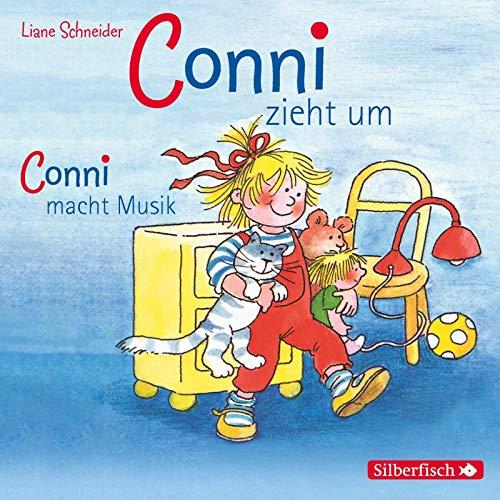 Schneider, Liane : Conni zieht um / Conni macht Musik, 1 Audio-CD