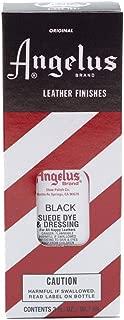 Angelus Suede Dye Black
