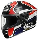ショーエイ(SHOEI) ヘルメット X-TWELVE MARQUEZ(マルケス) TC-1(RED/BLACK) L (59-60cm)