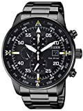 CITIZEN Orologio Uomo Cronografo Of Collection Aviator Chrono CA0695-84E