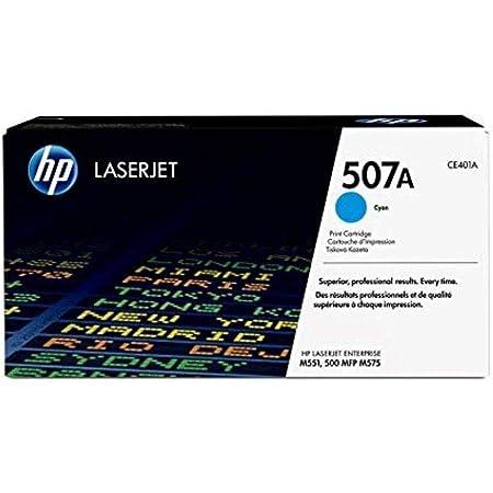 Hp 507a Ce401a Blau Original Toner Für Hp Laserjet Enterprise M551 Color M575 Pro 570 Bürobedarf Schreibwaren
