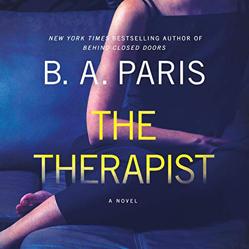 The Therapist Audiobook By B. A. Paris cover art