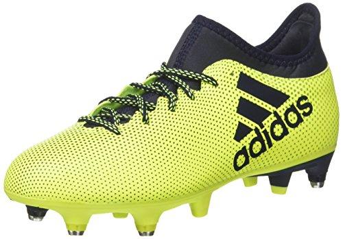 adidas X 17.3 SG, Chaussures de Football Homme, Multicolore (Solar Yellow/Legend Ink/Legend Ink), 40 2/3 EU