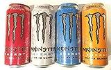 Monster Energy Drink Zero Ultra Variety 16 Pack