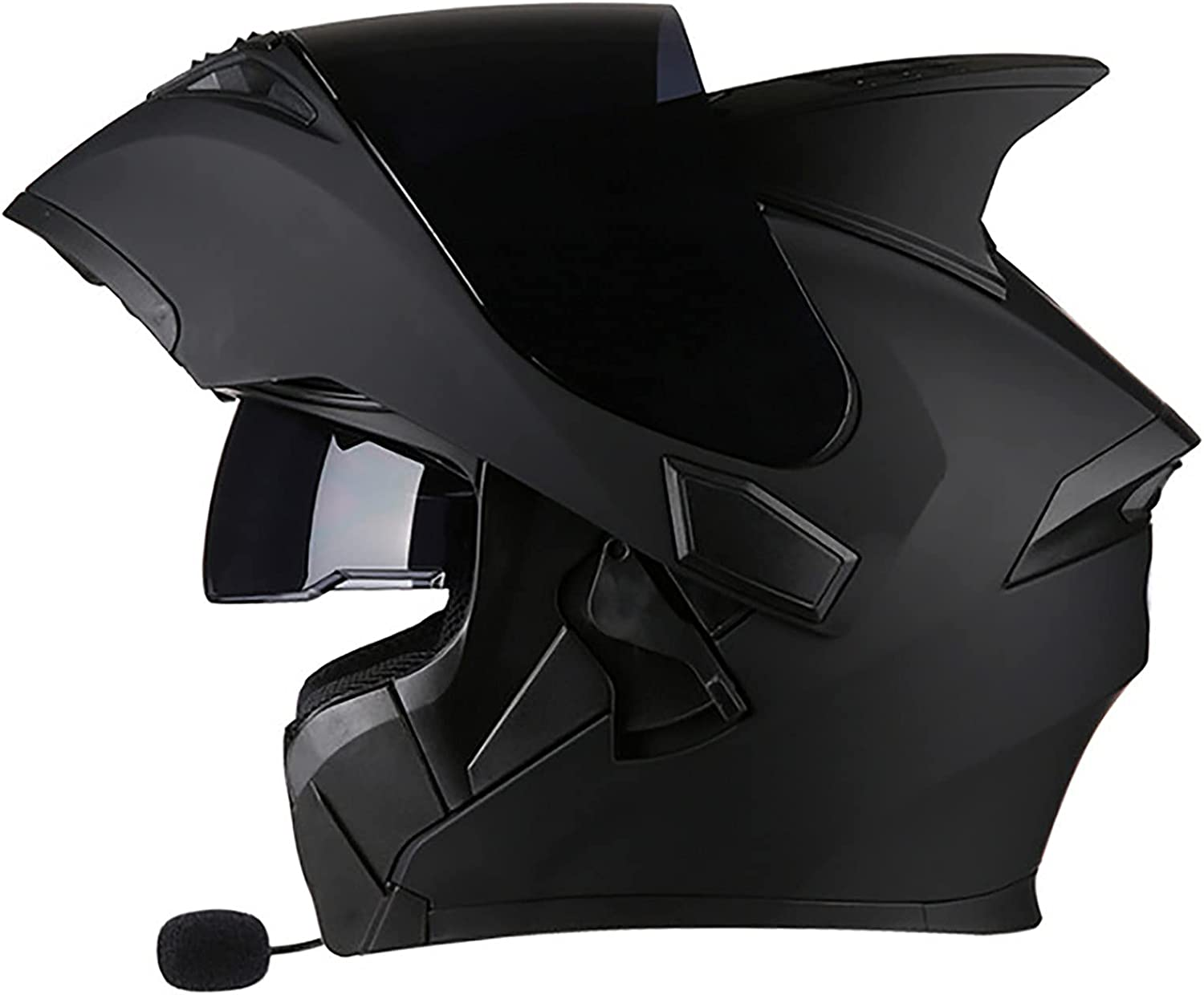 Flip Up Full Face Modular Motorcycle D in Built Limited time sale Helmet Great interest Bluetooth