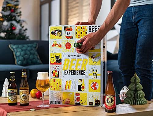 Calendrier de lavent - 24 bouteilles - Idée cadeau - Bières
