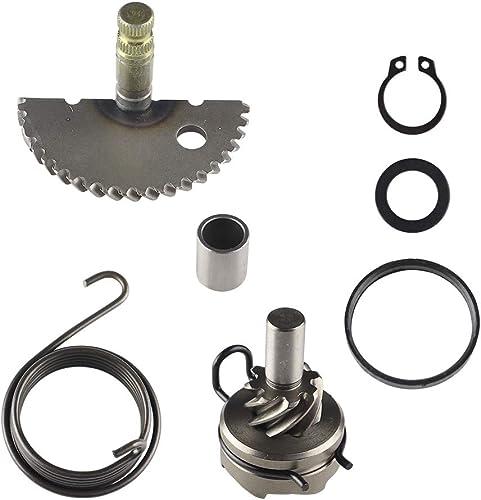 JRL CNC Kick Start Starter Lever Fit 50 70 110 125cc CRF XR 50 75 YX Dirt Bike Black