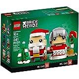 LEGO Mr. & Mrs. Claus - Wish a Happy Christmas with BrickHeadz™ Mr. & Mrs. Claus!