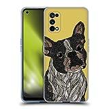 Head Case Designs sous Licence Officielle Valentina French Bulldog Chiens Coque en Gel Doux Compatible avec Realme X7 5G