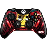 Skinit Decal Gaming Skin Compatible with Xbox One Controller - Officially Licensed Marvel/Disney Ironman Close up Design