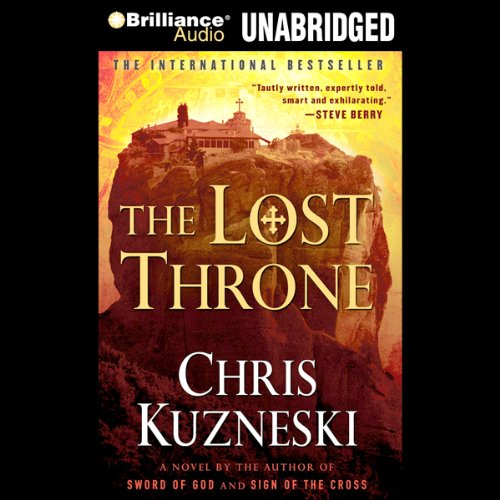The Lost Throne audiobook cover art