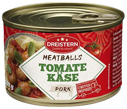DREISTERN, Fleischbällchen in Tomaten Käse Sauce g, 400 g