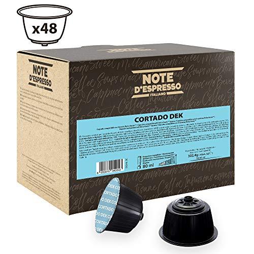 Note D'Espresso - Cortado Dek - Kapselmaschinen - ausschließlich Kompatibel mit Nescafé* und Dolce Gusto*- 6,3g x 48