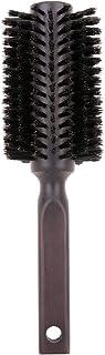 ヘアブラシ-Luxspire 豚毛ヘアブラシ 木製櫛 くし ヘアケア コーム 静電気防止 頭皮マッサージ つや感あり 頭皮に優しい ヘアスタイリング用品 茶色