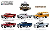 GreenLight 1: 64 Dually Drivers Series 2 (46020) - Includes All 6 Assorted Trucks