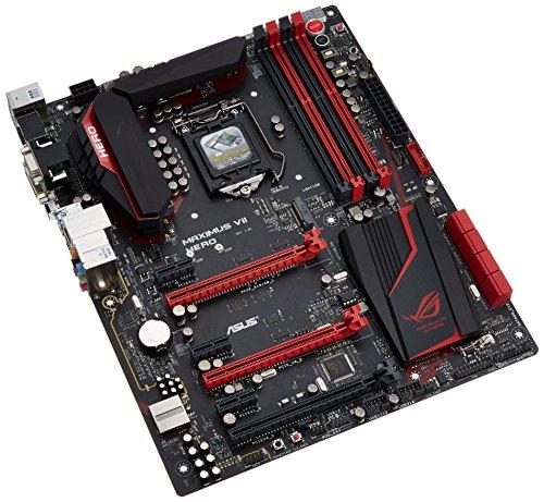 Asus Maximus VII Hero 90MB0I00-M0EAY0 Gaming Mainboard (Sockel 1150, ATX, Intel Z97, ROG, 4x DDR3 Speicher, SATA III)