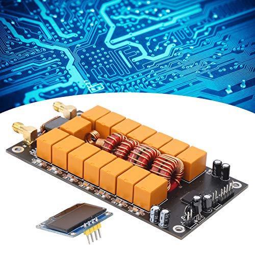 T opiky Tablero sintonizador de Antena ATU-100, Mini sintonizador automático de Antena 1.8-50MHz Sintonizador automático de Antena Kits IY Componentes del probador ATU-100 400mA
