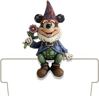 Enesco Disney Traditions Designed by Jim Shore Mickey Gnome Planter Adornment 3.75 in
