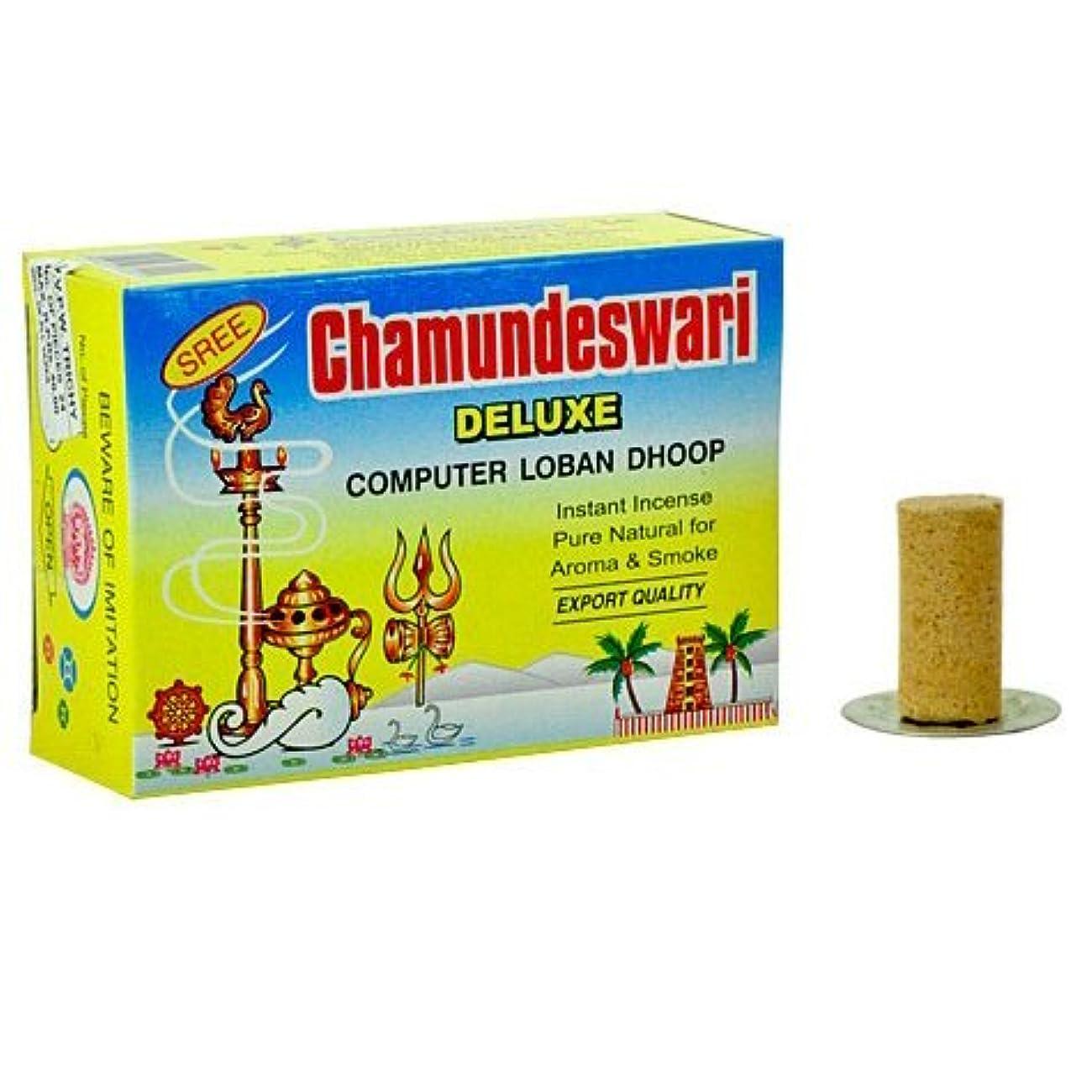 炎上暴露する耳Sree ChamundeswariデラックスコンピュータSambrani Loban Dhoop、1.5?