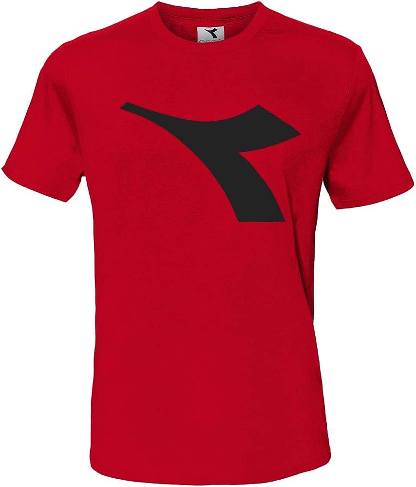 Diadora t-shirt , maglietta a maniche corte per  uomo , con logo in risalto , 90% cotone, 10% viscosa DiadoraTShirt177173_1_4