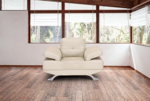 Royaloak Royal Single Seater Sofa (Ivory)