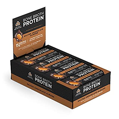 Ancient Nutrition Bone Broth Protein Superfood Bars, 12 Count Box