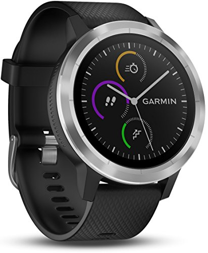 "Smartwatch GARMIN Vivoactive 3 1,2"" GPS Waterproof 5 ATM Glonass Black Stainless Steel"