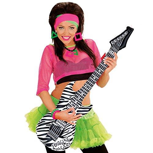 Guitarra decorativa, hinchable, varios modelos, de goma, instrumento para fiestas temáticas