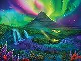Buffalo Games - Enchanted Aurora - 1500 Piece Jigsaw Puzzle