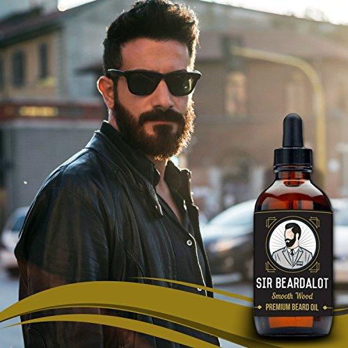 Sir Beardalot Olio da Barba per uomo - Naturale Inglese di...