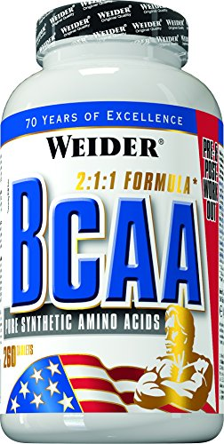 Weider, All Free Form BCAA, 1er Pack (1x 260 Tabletten)