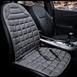 Fochutech Car Heated Seat Cover, Universal 12V Heated Seat Cushion for...