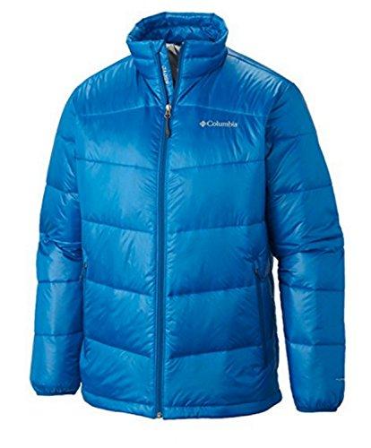 Columbia Big and Tall Men's Gold 650 TurboDown Down Winter Jacket (2X, Hyper Blue)