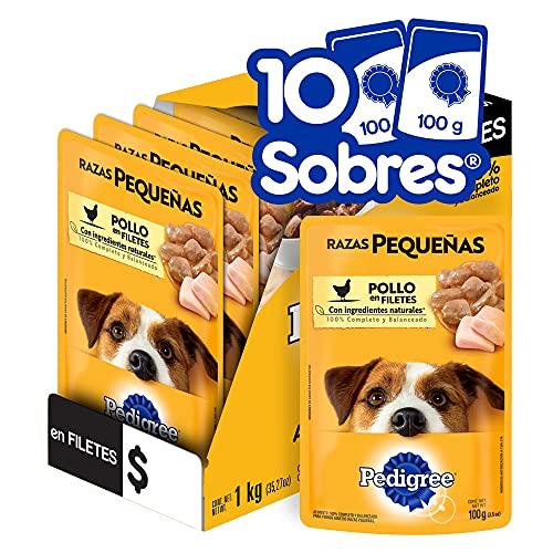 PEDIGREE alimento húmedo para perros adultos de Razas Pequeñas. Sabor: Pollo...