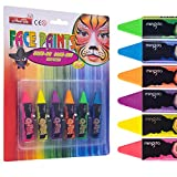Face Paint Crayons for Halloween,Non Toxic...