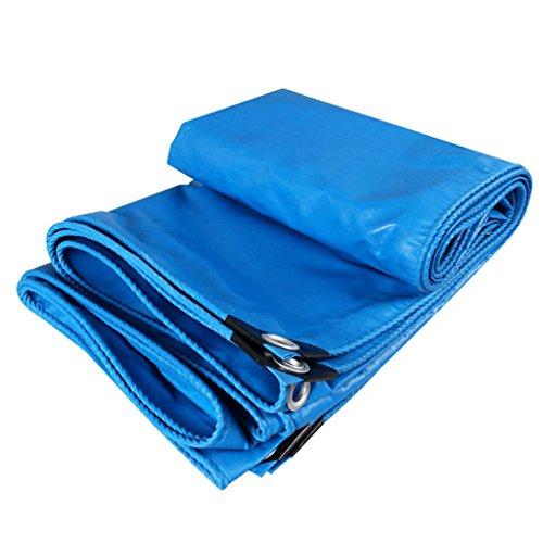 Ainshop Plane Amaries-doek, blauw, sterk, waterdicht, waterdicht, regendicht, luifeldoek, auto-vrachtwagen, canvas, vochtbestendig, eenvoudig op te vouwen.