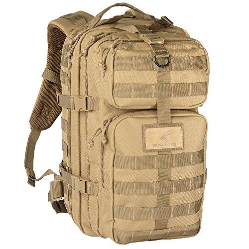 Exos Bravo Tactical Assault Rucksack Einheitsgröße Coyote Tan