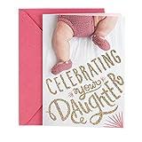 Hallmark Tree of Life Baby Girl Greeting Card (Girl Feet)