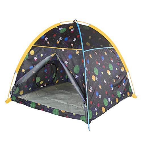 Pacific Play Tents 41200 Kids Galaxy Dome Tent w/Glow in the Dark Stars - 48' x 48' x 42'