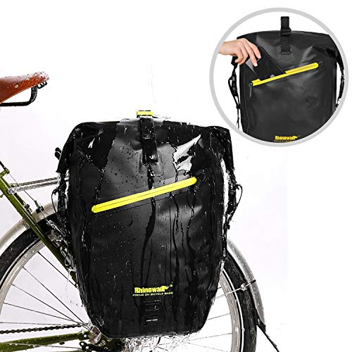 Fantastic Deal! Rhinowalk TPU Waterproof MTB Cycling Bicycle Bike Rear Seat Trunk Pack Bag Anti-Tear...